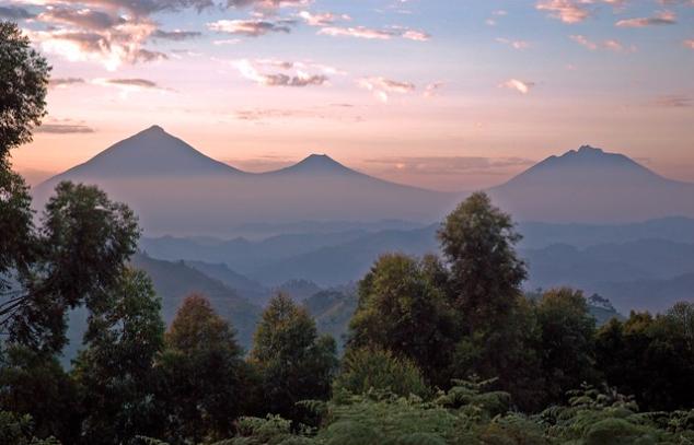 muhavura volcano - Mgahinga Gorilla National Park