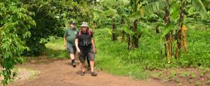 Community walks in uganda