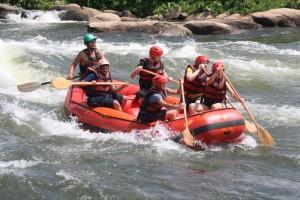 rafting at the source of the nile uganda