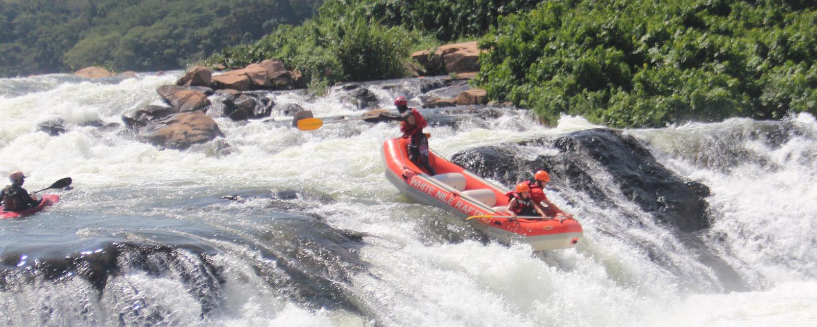 3 days Jinja safari , bungee jumping & rafting