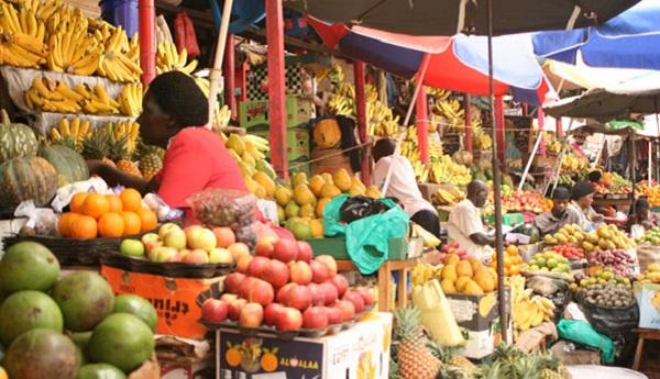 Nakasero Market-Kampala City Tour