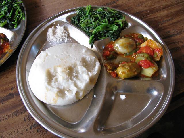 posho - Ugandan dishes