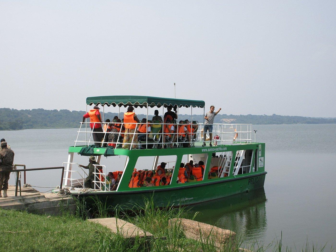 Boat Cruise in Queen Elizabeth National Park