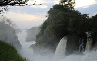 Hiking at Murchison falls