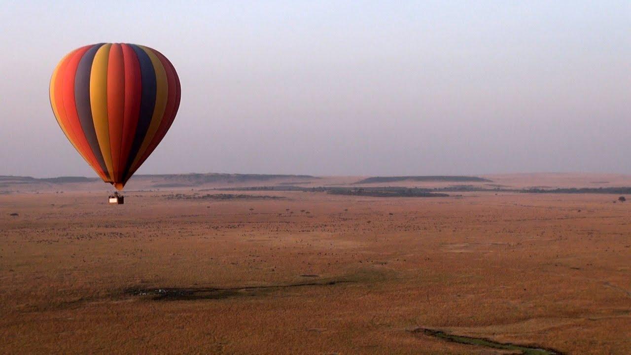 balloon ride in masai mara